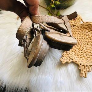 Minnetonka Shoes - Minnetonka Beaded Ankle Strap Sandals Sz 7
